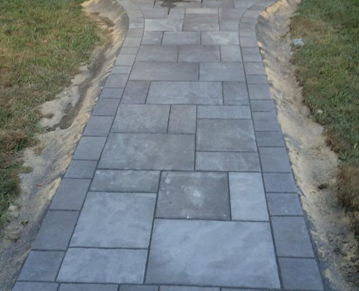 Unilock Walkway