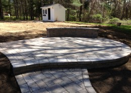 Techo-Bloc Patio and Wall