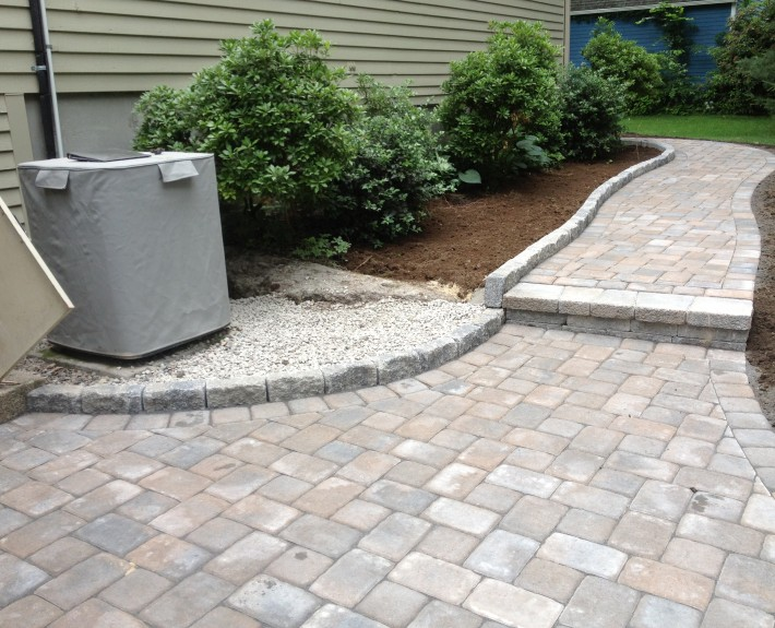 Techo-Bloc Walkway and Edging