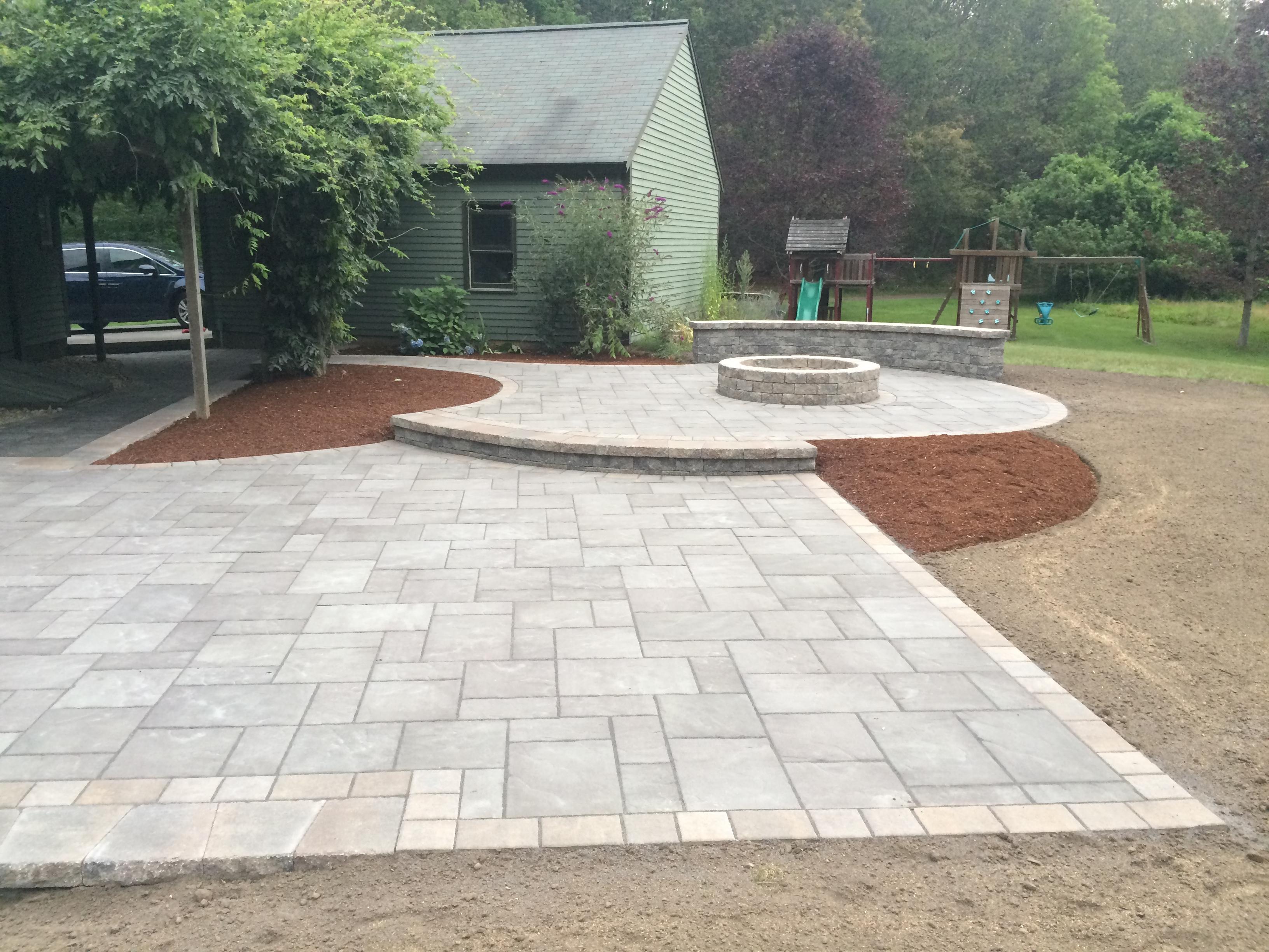 New Patio Design & Installation Taunton & Attleboro MA