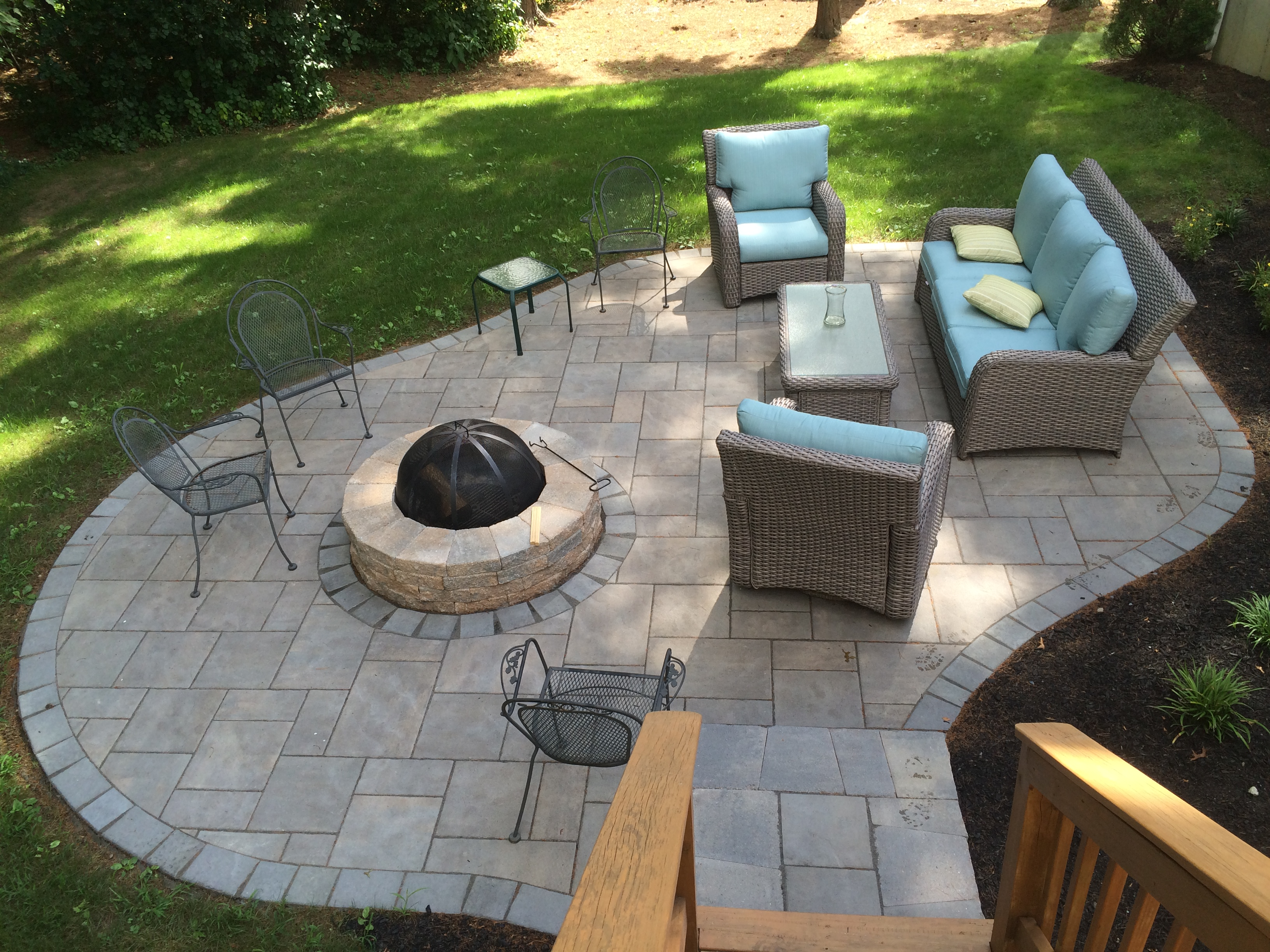 install patio pavers makara quot x to installation lynda image luxury how concrete of
